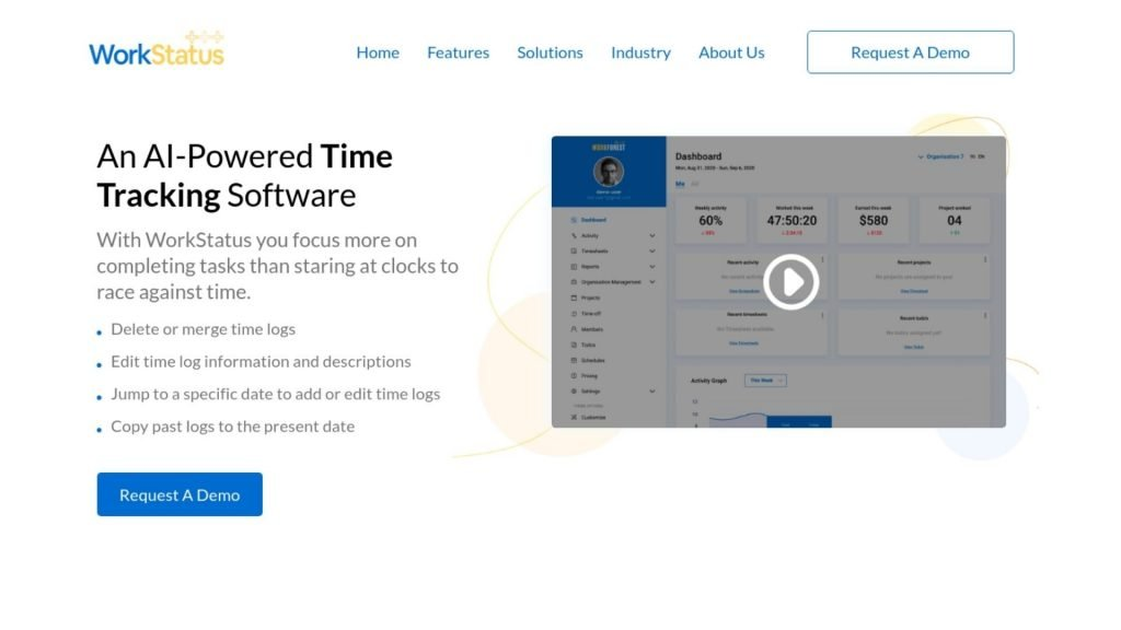 AI Powered time tracking software for staff scheduling